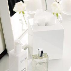 Ceramic Tissue Box Cover | The White Company