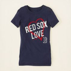 girl's Boston red sox tee #childrensplace #redsox