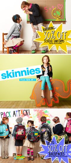 gap kids fall 2011 - My kiddo (top left and bottom w/ backpack looking) :)
