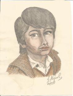 retrato 3, lápiz