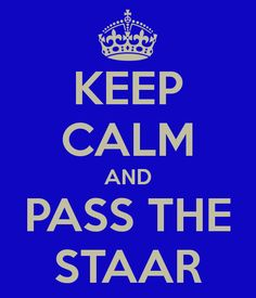 How to feel confident that i can pass the staar test?