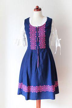 https://www.etsy.com/listing/200200667/vintage-dirndl-dress-blue-pink-german?