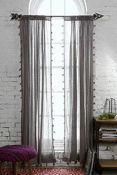 Magical Thinking Fluro-Tassel Curtain