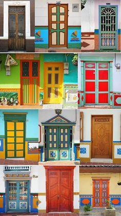 Tür-Impressionen aus Kolumbien!