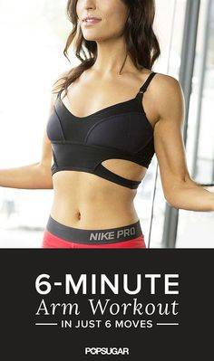 6 is the lucky number for beautifully toned arms. In six minutes with six different moves you will surely be flex-ready.