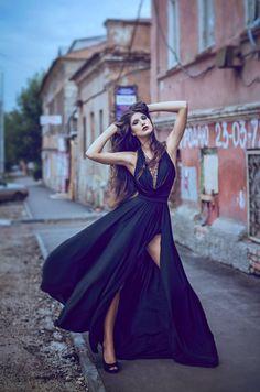 Gorgeous black gown