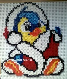 Christmas Bruce (Neopets) hama perler beads by deco.kdo.nat