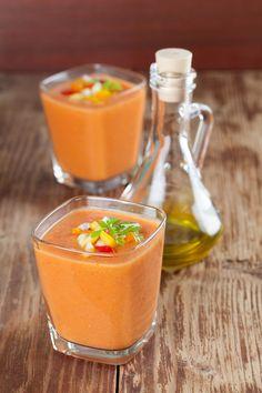 Gekoelde tomaten en harissa soep - Honingtomaatjes.nl !