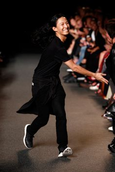 Pin for Later: Alexander Wang Gives Us All a Lesson in Being a Bad Girl Alexander Wang Spring 2015 Milan Fashion Weeks, New York Fashion, Teen Fashion, Fashion Models, Fashion Tips, Fashion Shoes, Fashion Designers, Runway Fashion, Fashion Trends