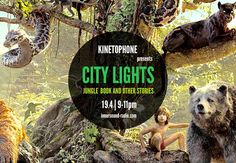 Listen again to CITY LIGHTS Radioshow – THE JUNGLE BOOK & OTHER STORIES (2016 Scores) City Lights, Scores, Community, Film, Books, Movie Posters, Movie, Libros, Film Stock