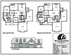Millhaven Homes | Semi-Custom and Custom Floorplans