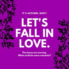 💕Happy First Day Of Fall, My Loves 💜