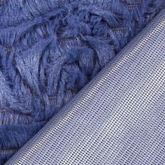 Polaire Soft Uni 2 - Polyester - bleu pigeon