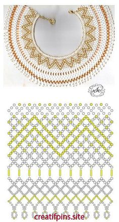 Error - Her Crochet Diy Necklace Patterns, Beaded Bracelet Patterns, Beading Patterns, Seed Bead Necklace, Bead Jewellery, Beads And Wire, Beading Tutorials, How To Make Beads, Bead Weaving