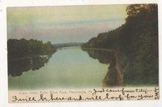 Indian Point, Black Rock, PHOENIXVILLE PA Rotograph G 5814 1908 UDB Postcard