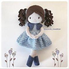 Cuma #amigurumi #amigurumidoll #amigurumilove #amigurumiaddict #crochet #crochetlove #crochetaddict #handmade #doll #gift