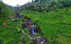 Air Terjun Kedung Kandang Menikmati Alam Nglanggeran di Yogyakarta - Yogyakarta