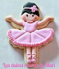Ballerina cookie Las dulces recetas de Mari