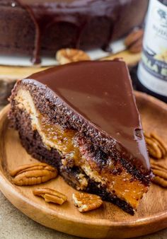 Chocolate Pecan Piecaken