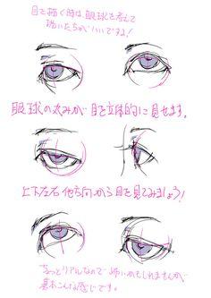 「目の描き方を考える。」 [1]