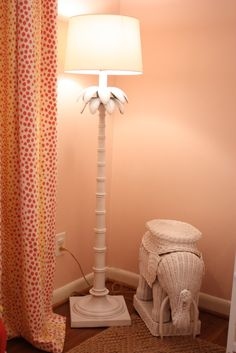Palm Beach-style floor lamp via Matters of Style