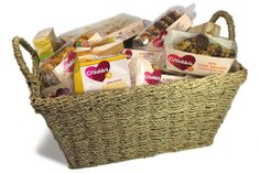 Giveaway of a hamper stocked full of fluten-free Mrs Crimble's treats http://womans-world.co.uk/index.php/food-a-drink-mainmenu-30/1436-mrs-crimbles-giveaway-340973