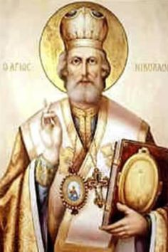 St Nicholas een goed heilig man........lb xxx.