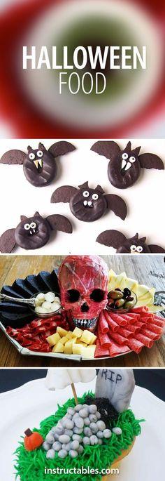 Bat donuts, flayed human skull antipasto, and more!