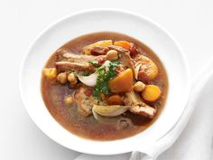 Slow-Cooker Moroccan Turkey Stew from FoodNetwork.com (don't know that I'd go that heavy on the cilantro at our house)