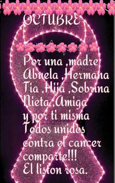 Pink October, Breast Cancer Awareness, To My Daughter, Daughters, The Cure, Neon Signs, Blog, Cristiano, Shakira