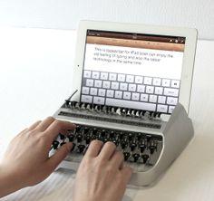 High tech meets low tech.