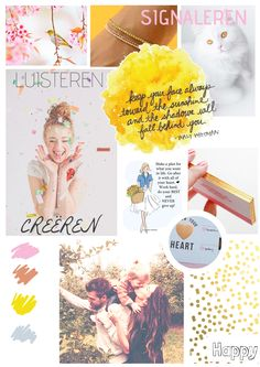 romantic & dreamy moodboard inspiration. Soft look with a yellow touch - one of my favorite moodboard I made for a client //manontoma.nl