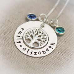 Mother or Grandmother Sterling Silver Washer by TracyTayanDesigns, $54.95