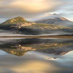 Cascade Lakes in Central Oregon ---------------------- @adammckibben