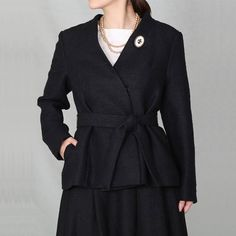 [Envelope online shop] 【Special price】Веtа&Margot Lisette Coats & Jackets  An elegant and classic set, with a jacket and skirt tailored with linen wool.
