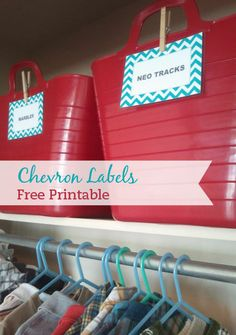 Little Paper Dog: free printable chevron labels — add your own text too :)