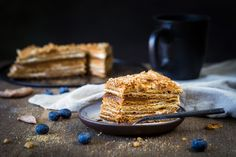 Medovik - layered honey cake by Vladislav Nosick