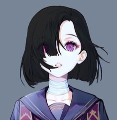 You are in the right place about Anime Characters Here we offer you the mos. Anime Oc, Fanarts Anime, Anime Characters, Manga Anime, Anime Girl Short Hair, Anime Art Girl, Manga Girl, Anime Couple Kiss, Anime Couples