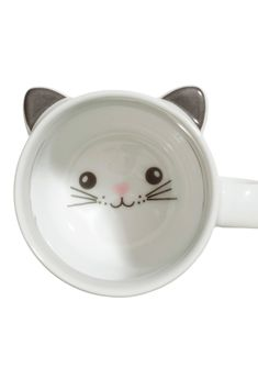 Kitty Mug...Kitty wine glasses check. Now to own this mug and my life will be complete.