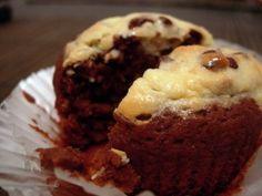 Gluten-Free Black Bottom Cupcakes Recipe - CookingDistrict.com