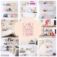 decorar estanterías http://bujaren.com/decorar-estanterias/