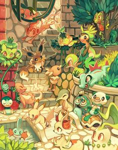The FanArt of #Pokemon. GREAT!    @Pokemon @NianticLabs @SerebiiNet @Junichi_Masuda @Bulbagarden @pokexperto @FolagoR @CentroPokemon @pokemexpic.twitter.com/tAR7m8seG0