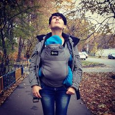 Autumn stroll. Free! Together. #BobaCarrier The Little Couple, Little Ones, Boba Baby Carrier, O Love, Fall Is Here, Mamas And Papas, Baby Gear, Snow, Autumn