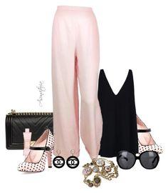 Designer Clothes, Shoes & Bags for Women Pink Garden, Pink Outfits, Stella Mccartney, Ruffles, Prada, Valentino, Kate Spade, Shoe Bag, Polyvore