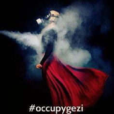 Occupy Gezi #direngezi Symbols Of Freedom, Protest Art, Foto Art, Public Art, Street Photography, Mists, Istanbul, Turkey, Ideas
