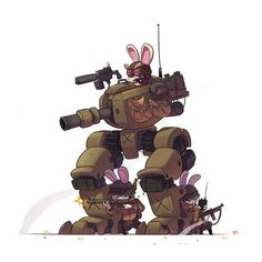 """""""Wyld Rabbits"""" by Ido Yehimovitz*   • Blog/Website 
