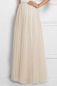 Needle & Thread|Tulle maxi skirt