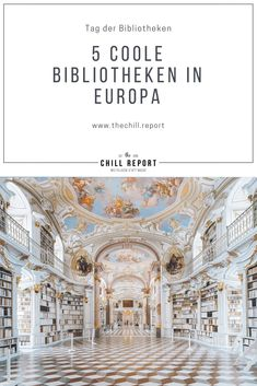 5 Außergewöhnliche Bibliotheken in Europa - The Chill Report Book Of Kells, Dublin, Austria, Taj Mahal, Portugal, Germany, Traveling, Building, Books