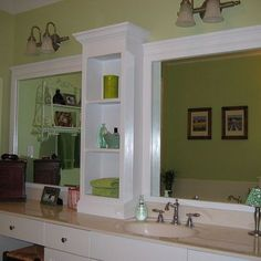 Hometalk Trends: Revamp Your Builder Grade Bathroom Mirror