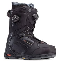 K2 THRAXIS BOA MENS SNOWBOARD BOOTS BLACK 2015 The Thraxis returns as the top of the line boot from K2. This is top end high spec tech with the focus on response and hard charging around the mountain. The triple BOA system ensures a perfectly dialed fit - two BOA Reels for the upper and lower zone tightening, and a third reel adjusts the BoaConda internal boot tightening #snowboard #snowboardboots #k2thraxisboamenssnowboardboots #colourblack